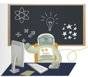 astronauts computer